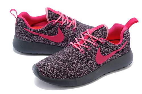 Nike Roshe Run Womens Floral Purple Pink Hong Kong